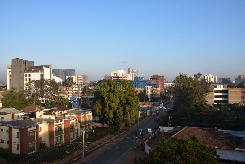 Προάστιο του Ναϊρόμπι στοκ φωτογραφία με δικαίωμα ελεύθερης χρήσης