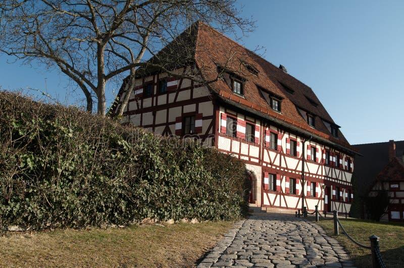 προαύλιο kaiserburg στοκ φωτογραφία