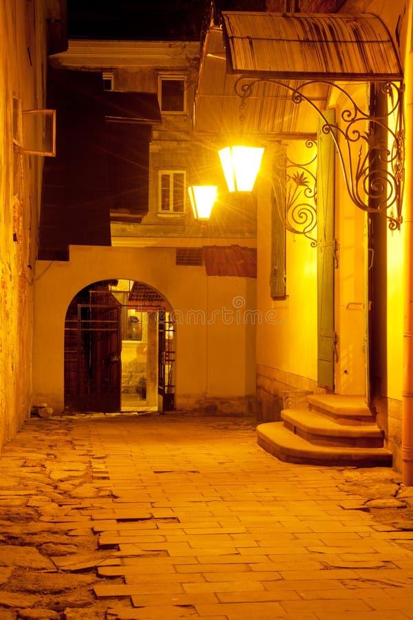 προαύλιο lviv στοκ φωτογραφία