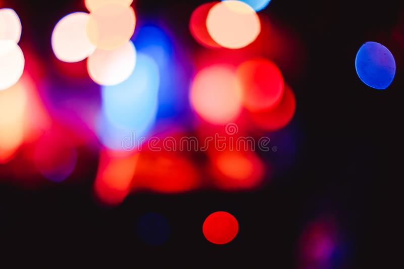 Προβολείς σε μια συναυλία στοκ φωτογραφία με δικαίωμα ελεύθερης χρήσης