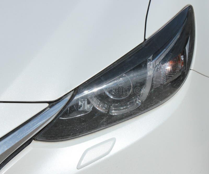 Προβολέας του αυτοκινήτου στοκ εικόνα