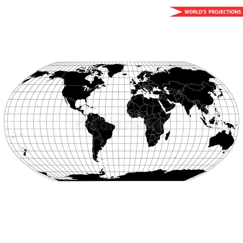 Προβολή χαρτών Robinson απεικόνιση αποθεμάτων