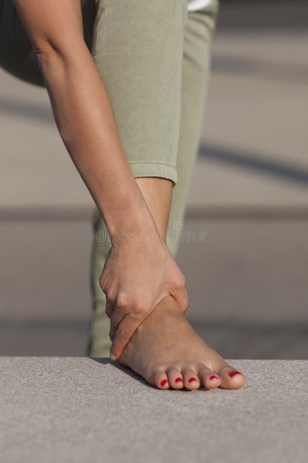 Προβλήματα ποδιών στοκ φωτογραφίες