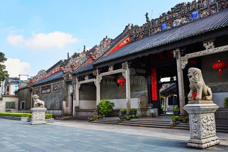 Προγονική αίθουσα γενιάς Chen στοκ εικόνα με δικαίωμα ελεύθερης χρήσης