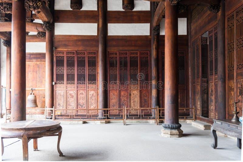 Προγονική αίθουσα Hushi στοκ φωτογραφία