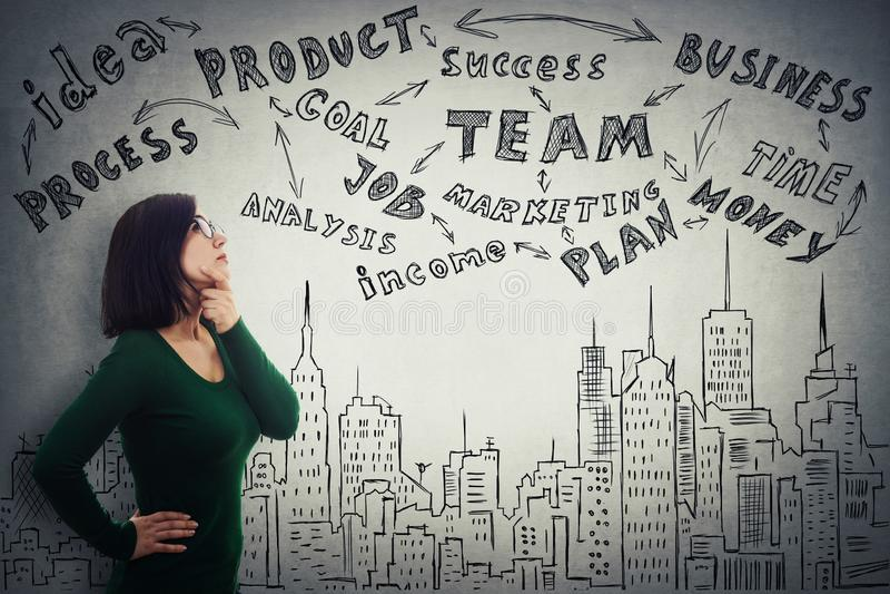 Προγραμματισμός επιχειρηματιών στοκ φωτογραφία