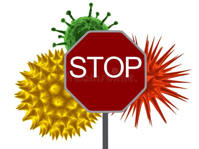 προειδοποίηση ιών απεικόνιση αποθεμάτων