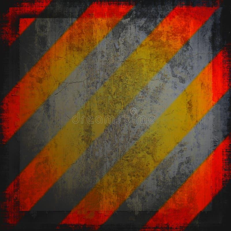 προειδοποίηση σημαδιών κινδύνου απεικόνιση αποθεμάτων