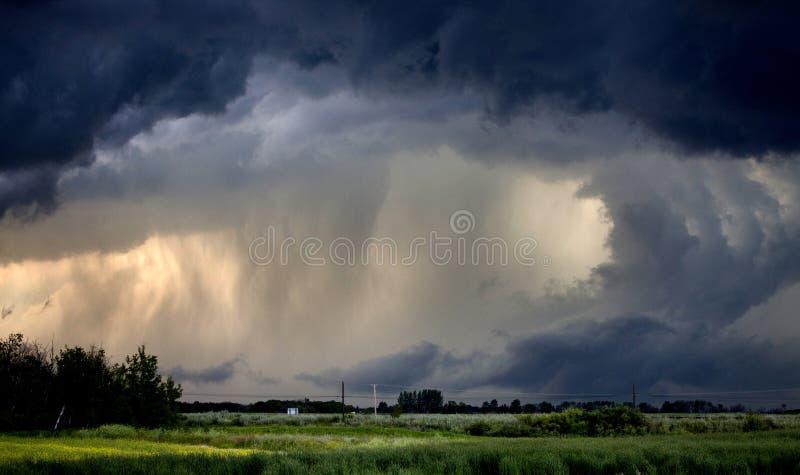 Προειδοποιημένη ανεμοστρόβιλος θύελλα στοκ εικόνες με δικαίωμα ελεύθερης χρήσης