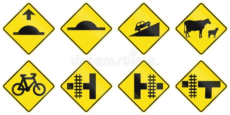 Προειδοποιητικά σημάδια στην Αυστραλία απεικόνιση αποθεμάτων