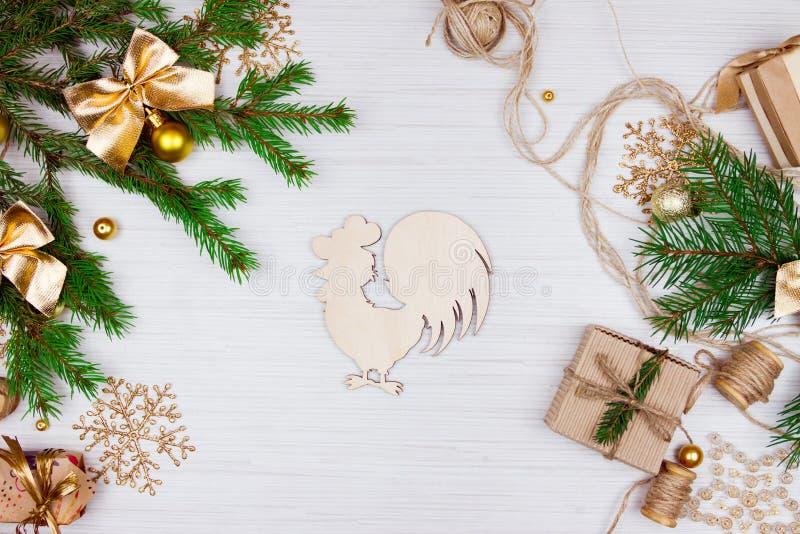 Προετοιμασία για τις διακοπές Χριστουγέννων στοκ εικόνα με δικαίωμα ελεύθερης χρήσης