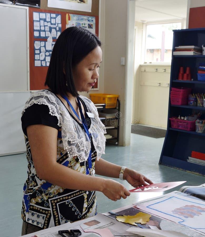 Προετοιμασία μαθήματος. στοκ φωτογραφία με δικαίωμα ελεύθερης χρήσης