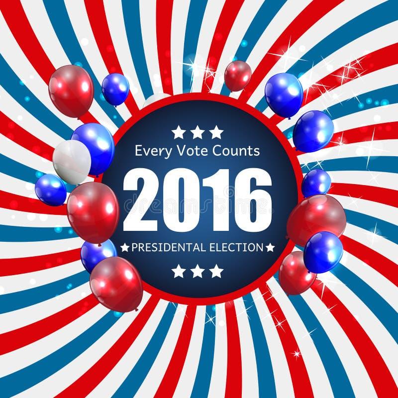 Προεδρικές εκλογές 2016 στο ΑΜΕΡΙΚΑΝΙΚΟ υπόβαθρο Μπορέστε να χρησιμοποιηθείτε ως απαγόρευση απεικόνιση αποθεμάτων