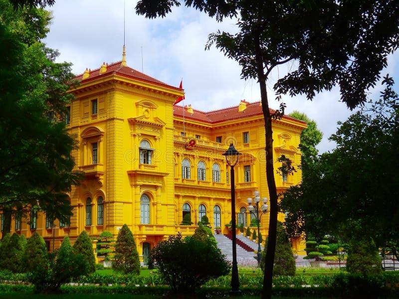 Προεδρική ιστορική περιοχή του Ho Chi Minh στοκ φωτογραφίες