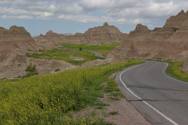 προηγούμενος δρόμος στοκ φωτογραφία