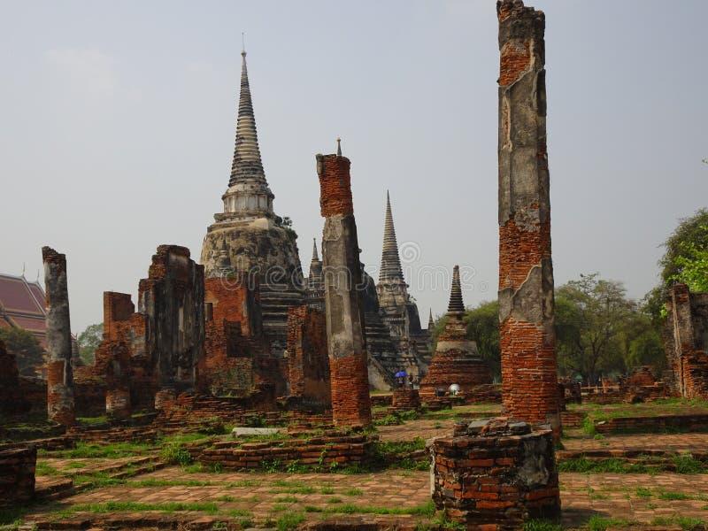 Προηγούμενο κεφάλαιο Ayutthaya του βασίλειου του Σιάμ στοκ εικόνες με δικαίωμα ελεύθερης χρήσης