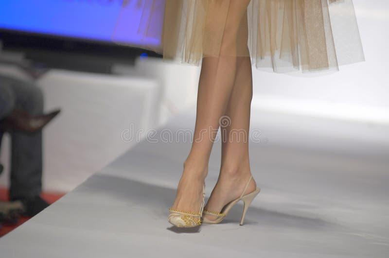 προκλητικά παπούτσια μανεκέν ποδιών στοκ εικόνα