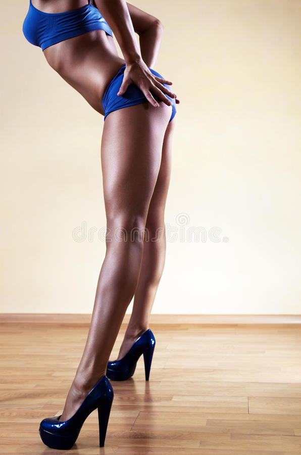 Προκλητικά πόδια στοκ φωτογραφίες
