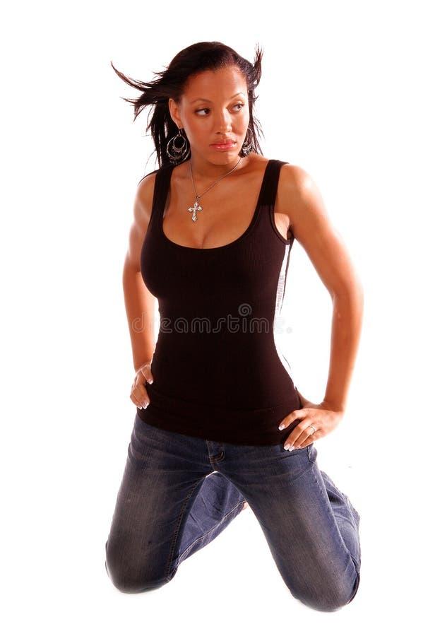 προκλητική γυναίκα αφρο&al στοκ φωτογραφίες με δικαίωμα ελεύθερης χρήσης