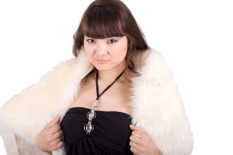 Download προκλητική γυναίκα πορτρέ στοκ εικόνα. εικόνα από έξυπνο - 13187105