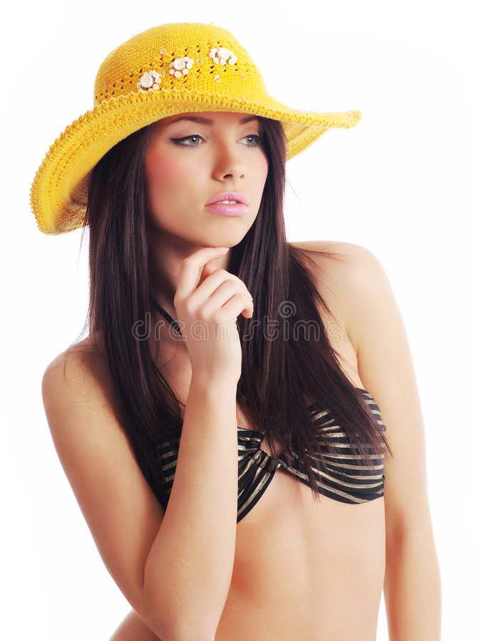 προκλητική θερινή γυναίκ&alp στοκ εικόνα με δικαίωμα ελεύθερης χρήσης