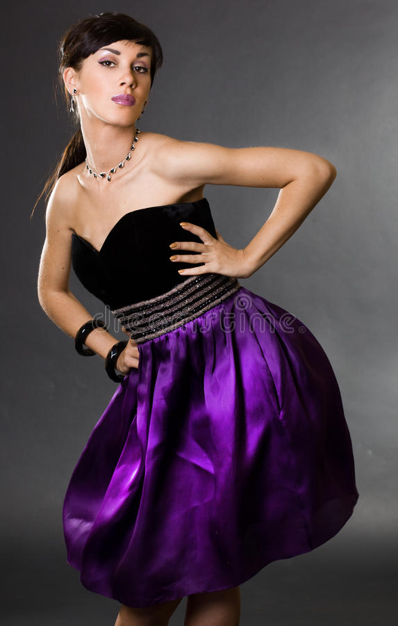 Προκλητική μοντέρνη γυναίκα στοκ εικόνες