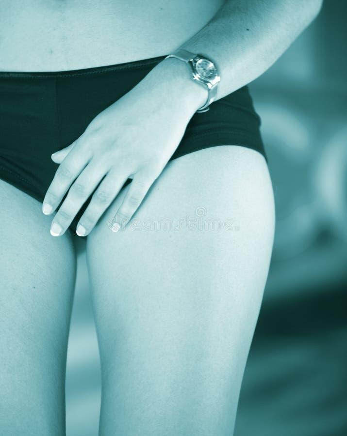 Προκλητικό ερωτικό γυναικείο πρότυπο στοκ φωτογραφίες με δικαίωμα ελεύθερης χρήσης