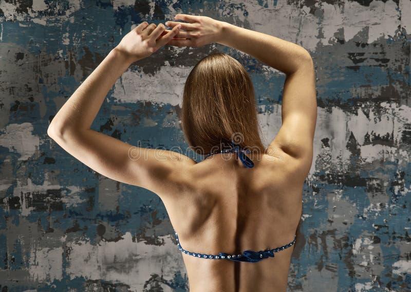 Προκλητικό κορίτσι ικανότητας Brunette στοκ φωτογραφία με δικαίωμα ελεύθερης χρήσης