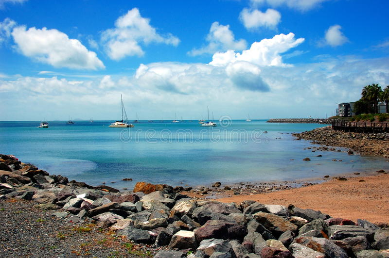 Προκυμαία παραλιών Airlie, Queensland, Αυστραλία στοκ φωτογραφία με δικαίωμα ελεύθερης χρήσης