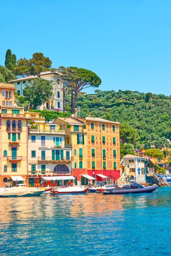 Προκυμαία σε Portofino στοκ εικόνα
