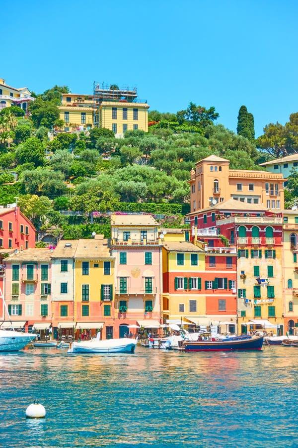 Προκυμαία σε Portofino στοκ φωτογραφία με δικαίωμα ελεύθερης χρήσης