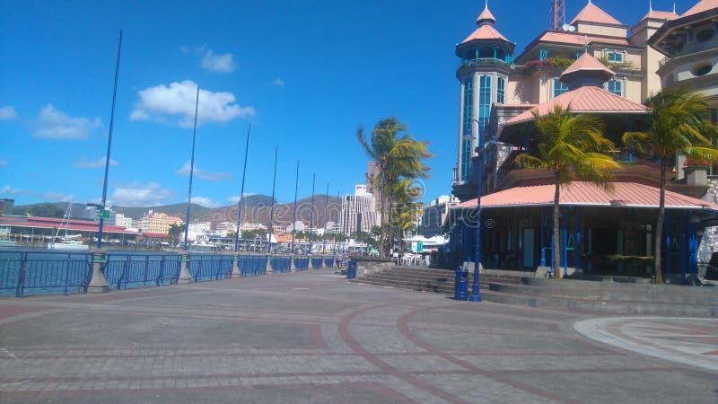 Προκυμαία & x28 Caudan Mauritius& x29  στοκ φωτογραφία με δικαίωμα ελεύθερης χρήσης