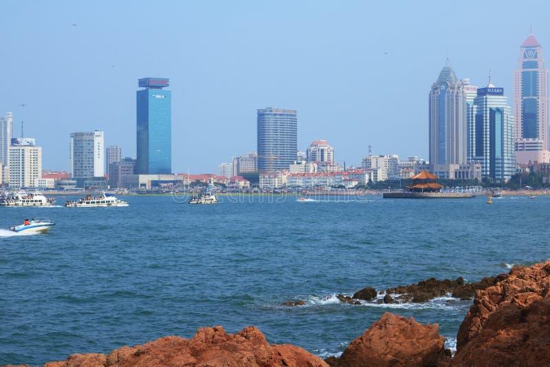 Προκυμαία Qingdao στοκ εικόνα