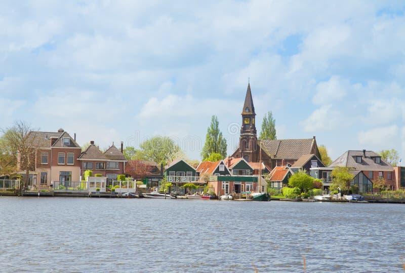 Προκυμαία Zaandijk, Netherland στοκ φωτογραφία με δικαίωμα ελεύθερης χρήσης