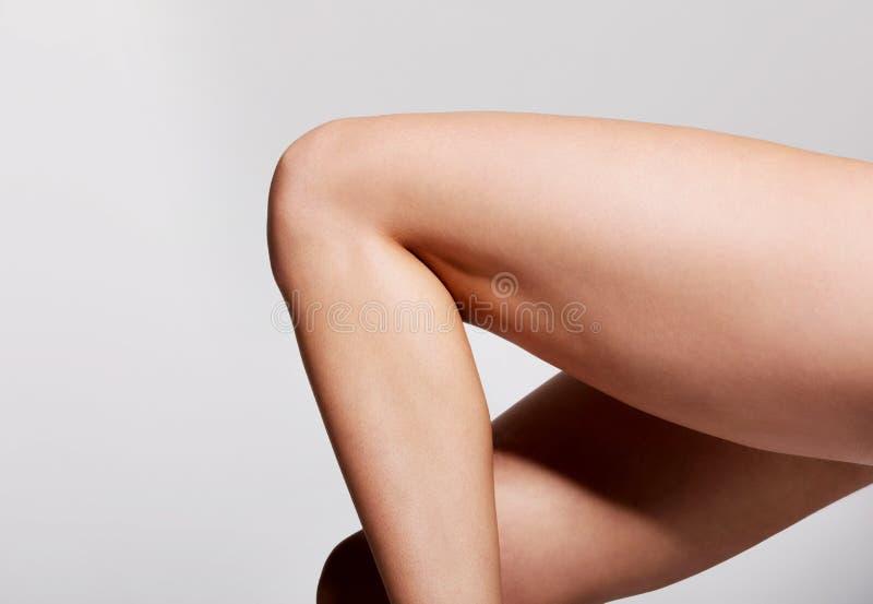 Προκλητικά πόδια ομορφιάς στοκ εικόνα