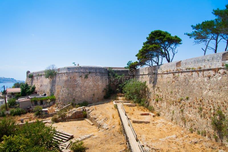 Προμαχώνας του ST Lucas σε Fortezza Rethymno στοκ φωτογραφία