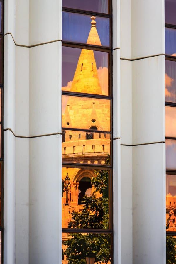 Προμαχώνας ψαράδων, Buda, Βουδαπέστη, Ουγγαρία στοκ φωτογραφίες