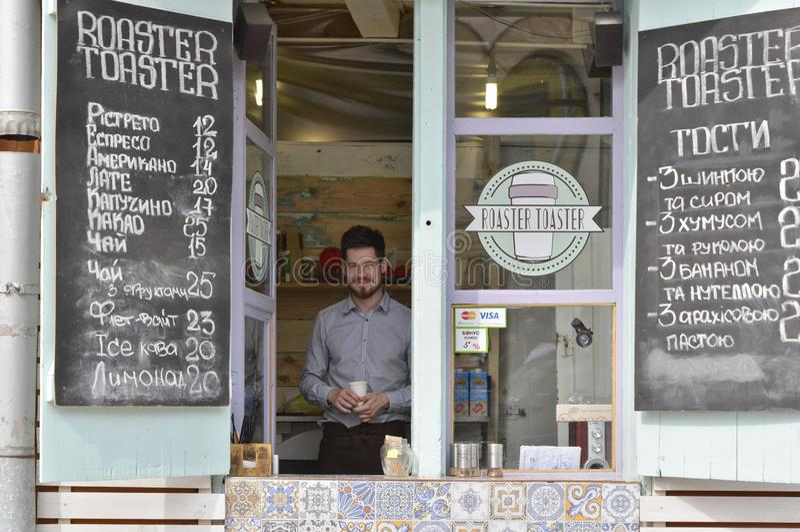 Προμηθευτής καφέ οδών Kyiv, Ουκρανία
