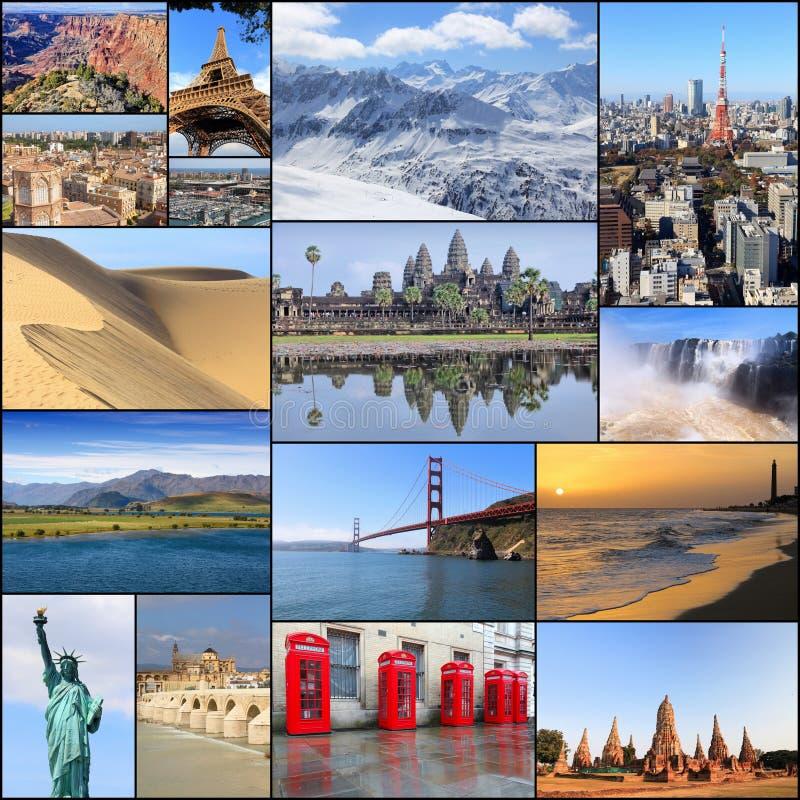 Προορισμοί ταξιδιού στοκ εικόνες