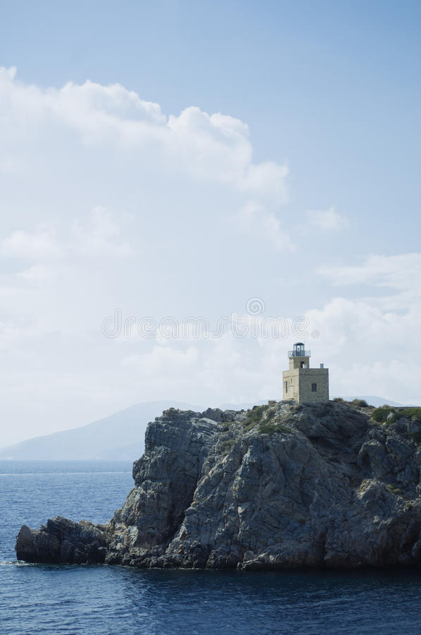 Προορισμός και τοπίο ταξιδιού νησιών Santorini στοκ εικόνα με δικαίωμα ελεύθερης χρήσης