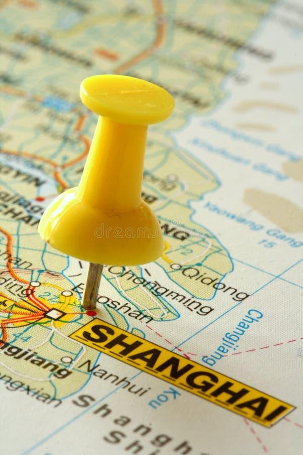 προορισμός Σαγγάη στοκ φωτογραφίες με δικαίωμα ελεύθερης χρήσης