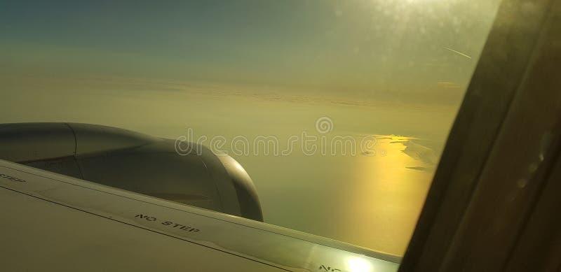 Προσγείωση στο Μάντσεστερ στοκ εικόνες