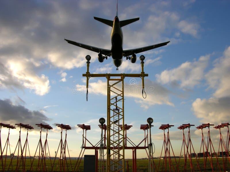 Προσγείωση στοκ εικόνες