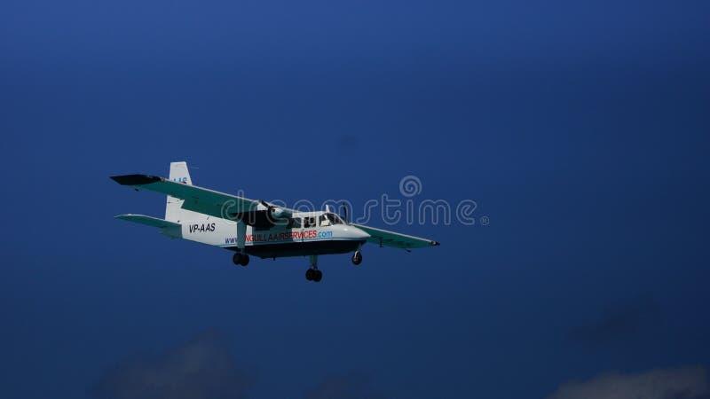 Προσγειωμένος αεροπλάνο αεριωθούμενων αεροπλάνων στοκ εικόνα
