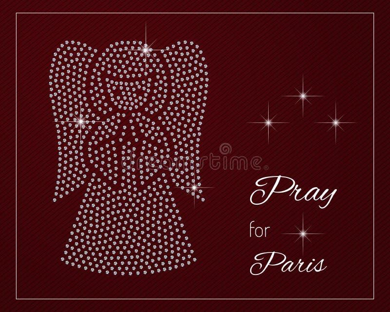 Προσεηθείτε για το Παρίσι ελεύθερη απεικόνιση δικαιώματος