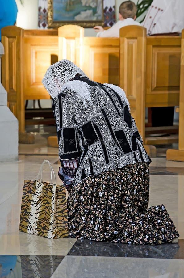 προσευμένος γυναίκα στοκ φωτογραφίες με δικαίωμα ελεύθερης χρήσης