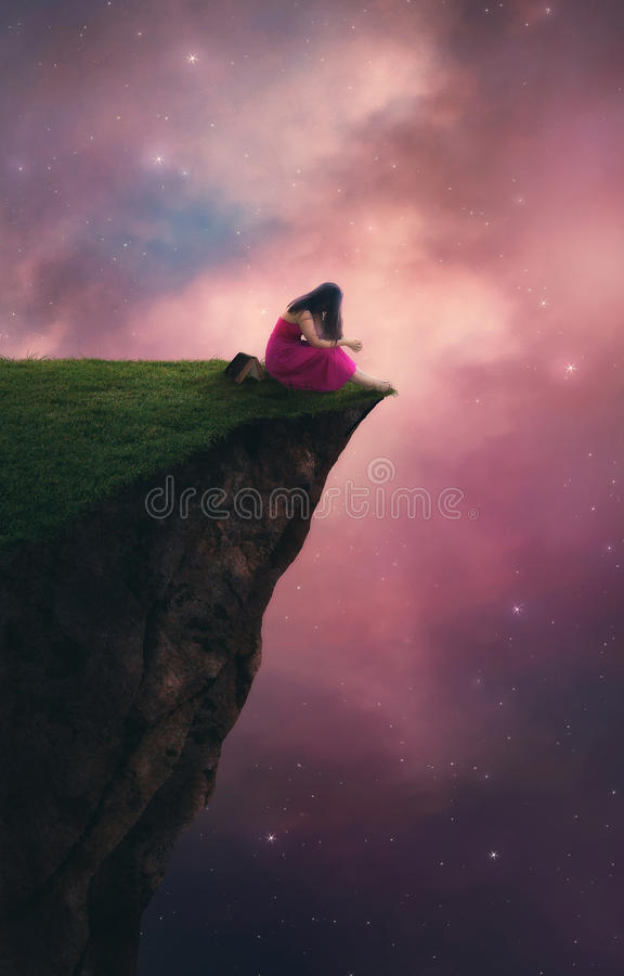 Προσευχή νυχτερινού ουρανού στοκ φωτογραφία με δικαίωμα ελεύθερης χρήσης