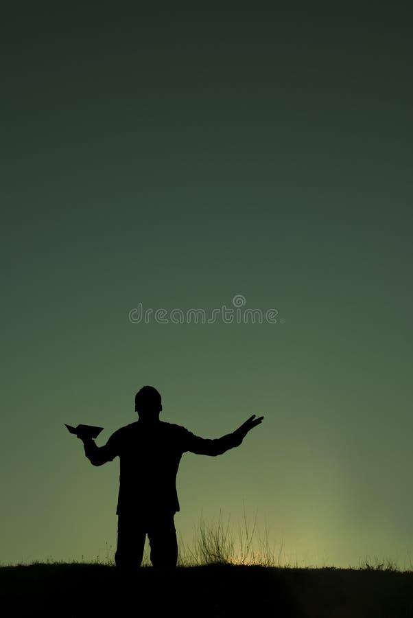 προσευχή στοκ φωτογραφία