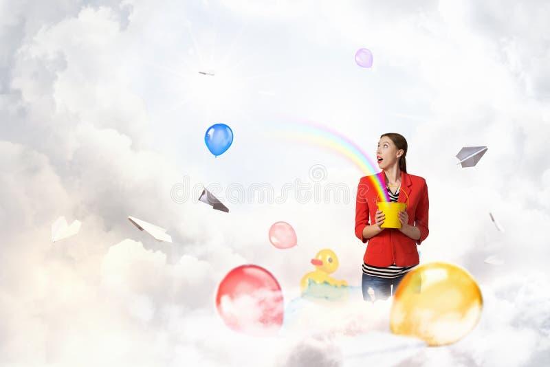 Προσθέστε το χρώμα και τις διακοπές στη ζωή σας στοκ εικόνες με δικαίωμα ελεύθερης χρήσης