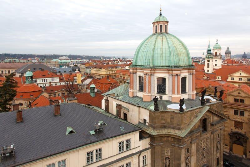 Προσθήκη αρχιτεκτονικής της Πράγας στοκ εικόνες με δικαίωμα ελεύθερης χρήσης